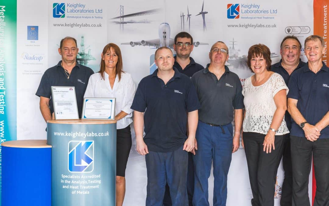 Double Success for Keighley Laboratories