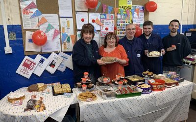 Keighley Laboratories has Fun with Red Nose Day Fundraiser