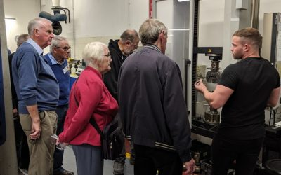 Engineers Association Visits Keighley Laboratories