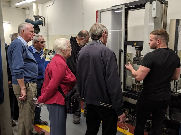 Engineers Association Visits Keighley Laboratories