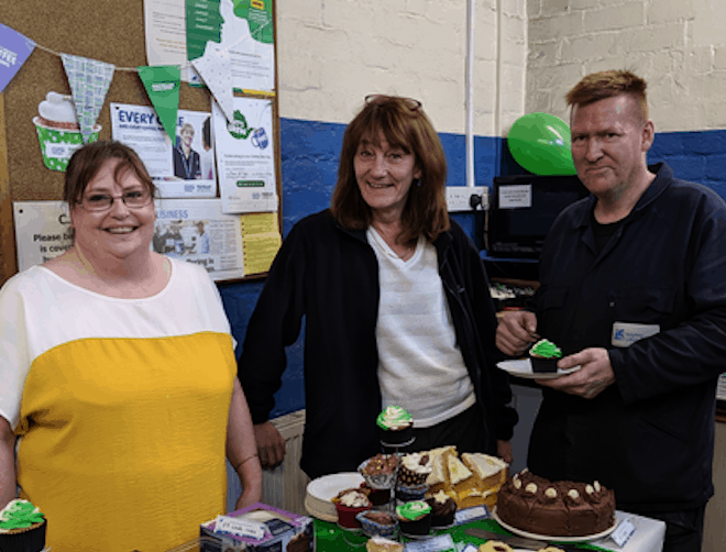 Bake sale for Macmillan Cancer Support