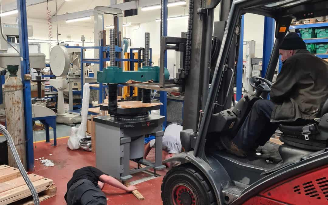 New Tensile Testing Machine : Part 3